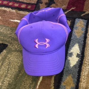 Purple UA hat
